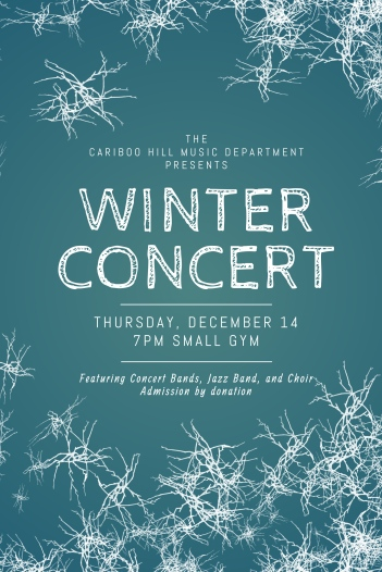 Copy of Winter Event Flyer Template